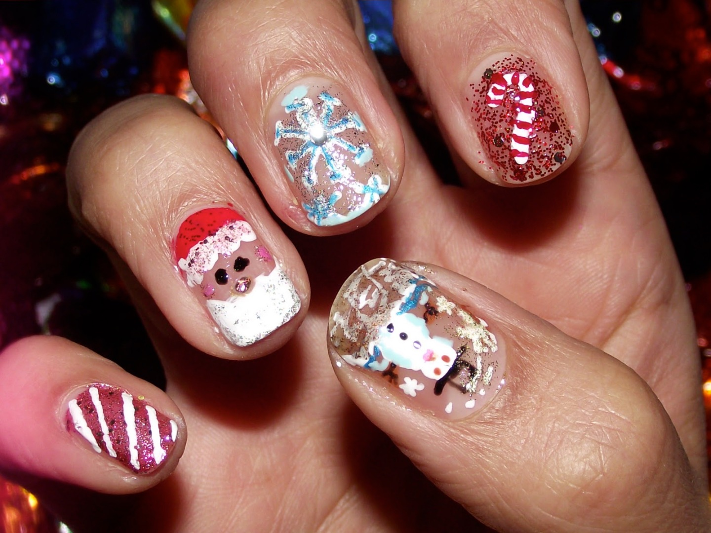 NOTD: Merry Christmas Everyone!♥