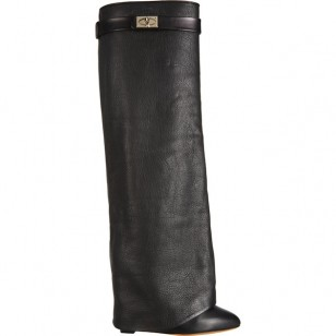 Givenchy-Shark-Tooth-Covered-Shaft-Knee-High-Boots-1